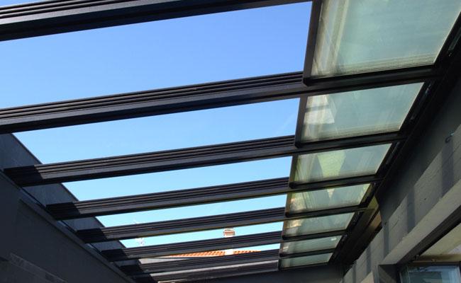Cerramiento de Terrazas en Barcelona - Modelo Kristal